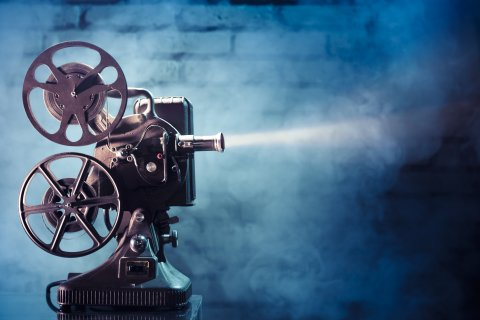 Fernando Gregory: photo of an old movie projector