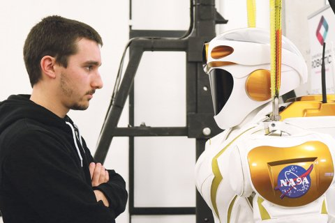 Henrique Ferrolho: estuda na FEUP, colabora com a Nasa e vai levar um robot a Marte