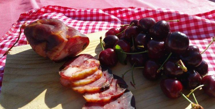 Salpicão de cereja: a nova iguaria produzida a partir da imagem de marca de Alfândega da Fé